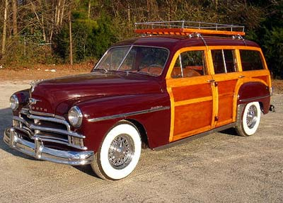 1950 Plymouth Woodie